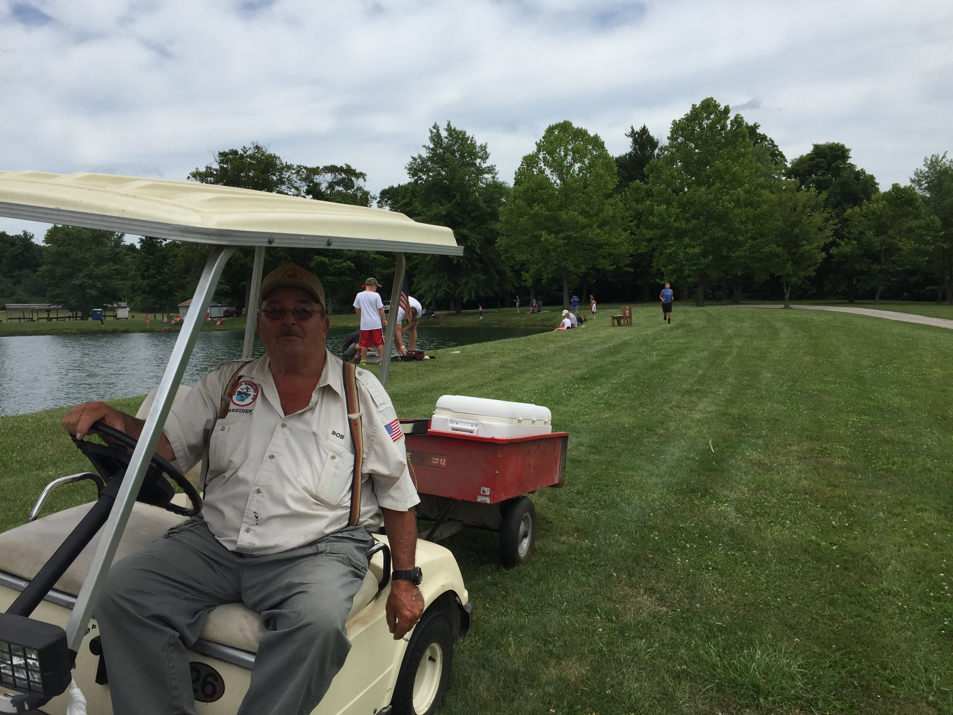 Bob golf cart